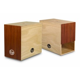 LP LP Peruvian Solid Wood Ultra Bass Cajon w/ Bag