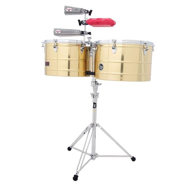 "LP LP Prestige Series 15"" 16"" Thunder Timbales Brass"