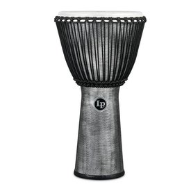 "LP LP Rope Djembe 12.5"" Synthetic Shell, Synthetic Head, Grey"