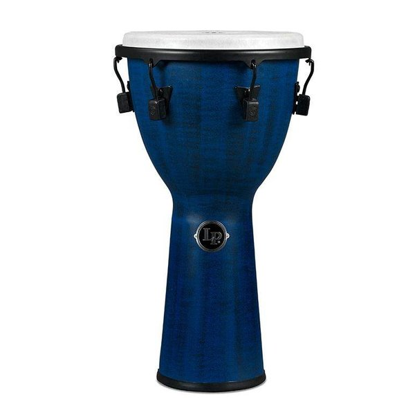 LP LP Tuned Djembe 12.5'' Synthetic Shell, Synthetic Head, Blue