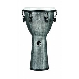 "LP LP Tuned Djembe 12.5"" Synthetic Shell, Synthetic Head, Grey"