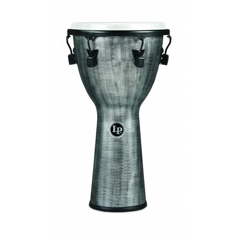 LP Tuned Djembe 12.5'' Synthetic Shell, Synthetic Head, Grey