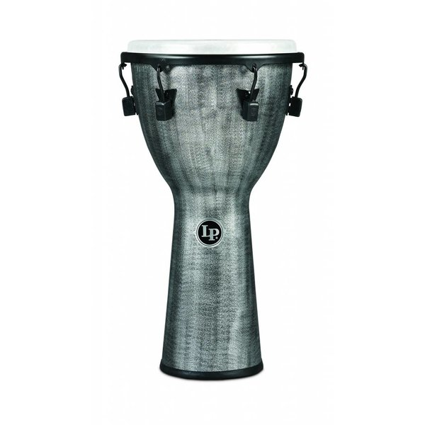 LP LP Tuned Djembe 12.5'' Synthetic Shell, Synthetic Head, Grey
