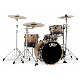 PDP PDP Concept Birch Natural To Charcoal Fade - Chrome Hardware 4 Pcs