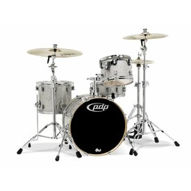 PDP PDP Concept Birch Silver Sparkle - Chrome Hardware 4 Pcs
