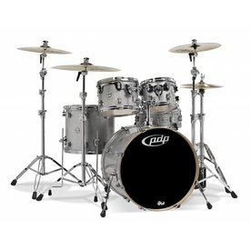 PDP PDP Concept Birch Silver Sparkle - Chrome Hardware 5 Pcs