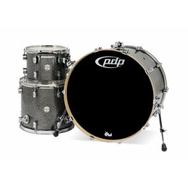 PDP PDP Concept Maple Black Sparkle - Chrome Hardware 3 Pcs