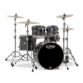 PDP PDP Concept Maple Black Sparkle - Chrome Hardware 5 Pcs
