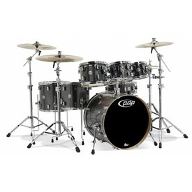 PDP PDP Concept Maple Black Sparkle - Chrome Hardware 7 Pcs