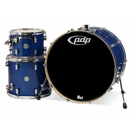 PDP PDP Concept Maple Blue Sparkle - Chrome Hardware 3 Pcs