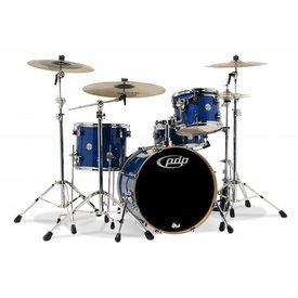 PDP PDP Concept Maple Blue Sparkle - Chrome Hardware 4 Pcs