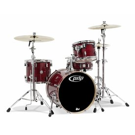 PDP PDP Concept Maple Cherry Stain Lacquer - Chrome Hardware 4 Pcs