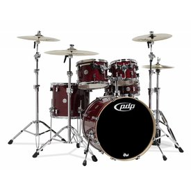 PDP PDP Concept Maple Cherry Stain Lacquer - Chrome Hardware 5 Pcs