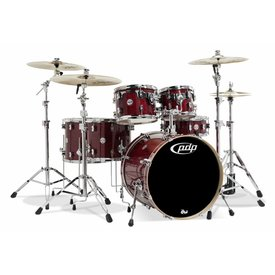 PDP PDP Concept Maple Cherry Stain Lacquer - Chrome Hardware 6 Pcs