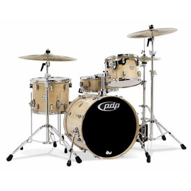PDP PDP Concept Maple Natural - Chrome Hardware 4 Pcs
