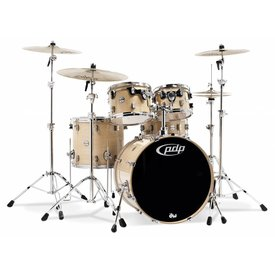 PDP PDP Concept Maple Natural - Chrome Hardware 5 Pcs