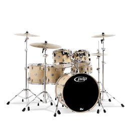 PDP PDP Concept Maple Natural Lacquer - Chrome Hardware 6 Pcs
