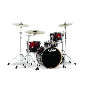 PDP PDP Concept Maple Red To Black Fade - Chrome Hardware 4 Pcs