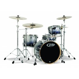 PDP PDP Concept Maple Silver To Black Fade - Chrome Hardware 4 Pcs