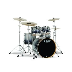PDP PDP Concept Maple Silver To Black Fade - Chrome Hardware 5 Pcs
