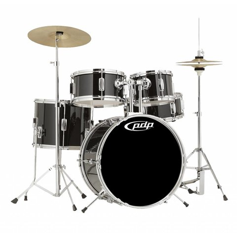 PDP Player - Kit, Cymbals, Throne - Black