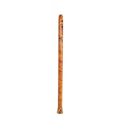 Toca Duro Didgeridoo Orange Swirl