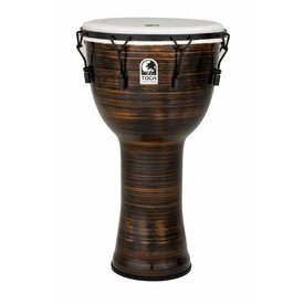 "Toca Toca Freestyle 2 Mechanically Tuned Djembe 14"" Spun Copper w/ Bag"