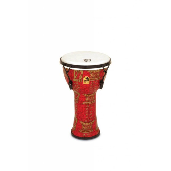 "Toca Toca Freestyle 2 Mechanically Tuned Djembe 9"" Thinker"
