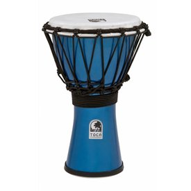 "Toca Toca Freestyle Colorsound 7"" Djembe Metallic Blue"
