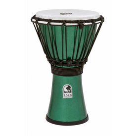 "Toca Toca Freestyle Colorsound 7"" Djembe Metallic Green"