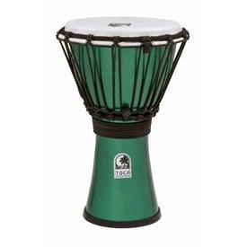 Toca Toca Freestyle Colorsound 7'' Djembe Metallic Green