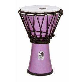 "Toca Toca Freestyle Colorsound 7"" Djembe Metallic Indigo"