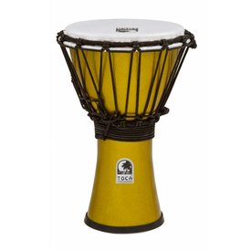 "Toca Toca Freestyle Colorsound 7"" Djembe Metallic Yellow"