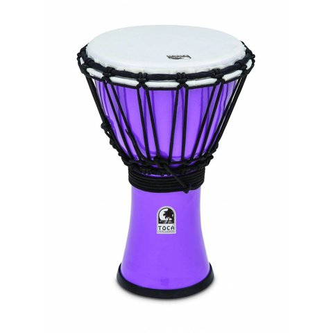 "Toca Freestyle Colorsound 7"" Djembe Pastel Red"