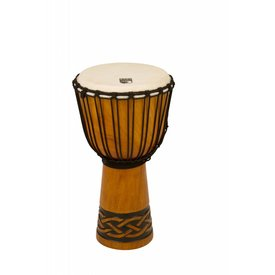 "Toca Toca Origins Wood Djembe 10"" Celtic Knot Finish"