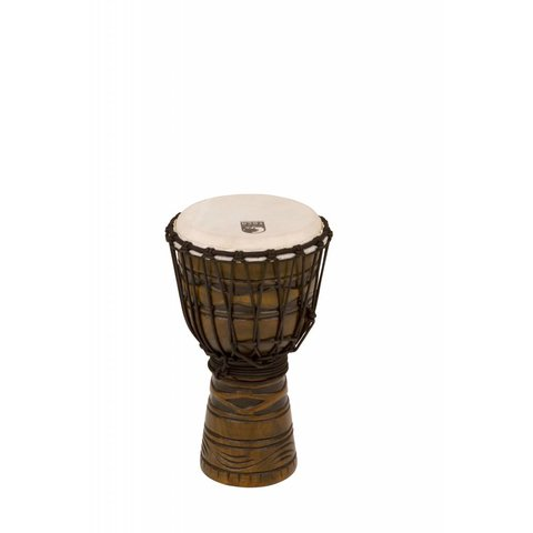 Toca Origins Wood Djembe 8'' African Mask