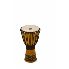 "Toca Toca Origins Wood Djembe 8"" Celtic Knot Finish"