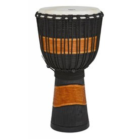 Toca Toca Street Djembe Brown/Black Carved Large
