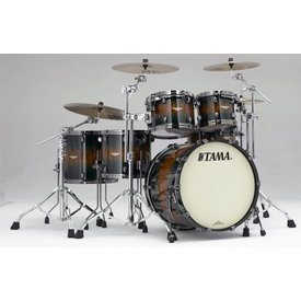 TAMA Tama BE52ZBSQJQB Starclassic Bubinga Exotix Shell Kit Jungle Quilt Burst