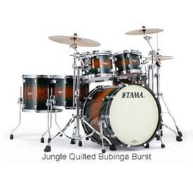 TAMA Tama BE52ZSQJQB Starclassic Bubinga Exotix Shell Kit Jungle Quilt Burst