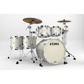 TAMA Tama BG52ZSSPW Starclassic Bubinga 5Pc Shell Kit Satin Pearl White
