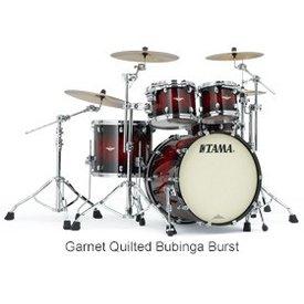 TAMA Tama BE42ZSQGQB Starclassic Bubinga Exotix Shell Kit Garnet Quilt Burst
