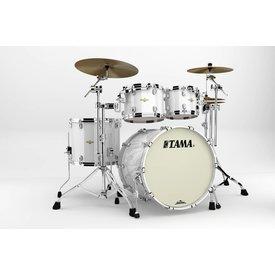 TAMA Tama BG42ZSPWH Starclassic Bubinga 4Pc Shell Kit Piano White