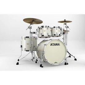 TAMA Tama BG42ZSSPW Starclassic Bubinga 4Pc Shell Kit Satin Pearl White