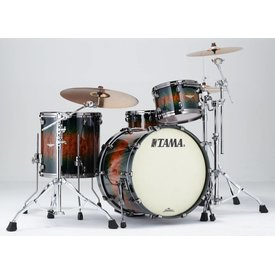 TAMA Tama BE32RZBSQJQB Starclassic Bubinga Exotix Shell Kit Jungle Quilt Burst
