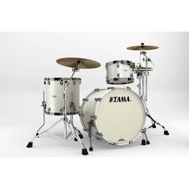 TAMA Tama Starclassic Bubinga 3Pc Shell Kit Blk Nckl Hw Satin Pearl White