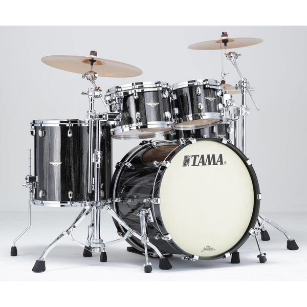 TAMA Tama MA42TZSBCS Starclassic Maple Shell Kit Black Clouds & Silver Linings