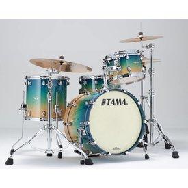 TAMA Tama ME30CMSGFCB Starclassic Maple Exotix Shell Kit Figured Caribbean Sea Blue