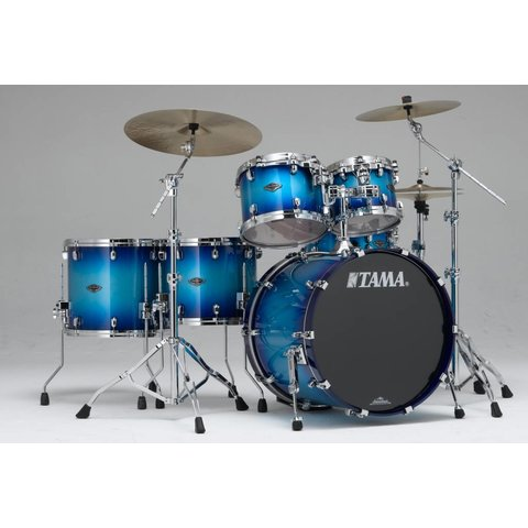 Tama PS52LSTWB Starclassic Performer B/B 5Pc Shell Kit Twilight Blue Burst