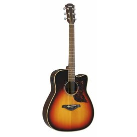 Yamaha Yamaha A1RVSHC Folk Cutaway Acoustic Electric Rosewood Vintage Sunburst w/ Case